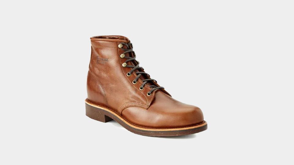 chippewa boots on huckberry