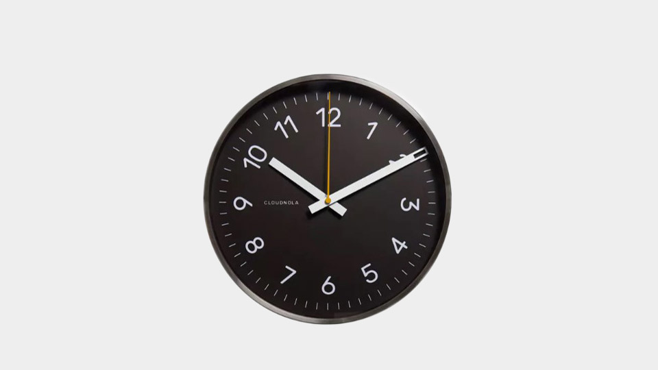 cloudnola now clock on huckberry