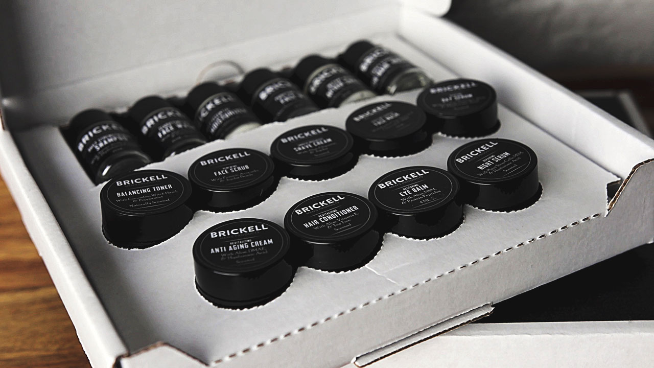 Brickell Men's Products Starter Kit Unboxing (Free Grooming