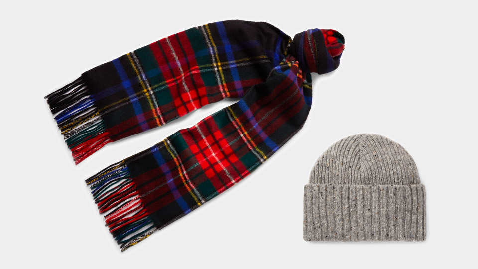 stylish christmas gift ideas for both genders - luxe beanie and scarf