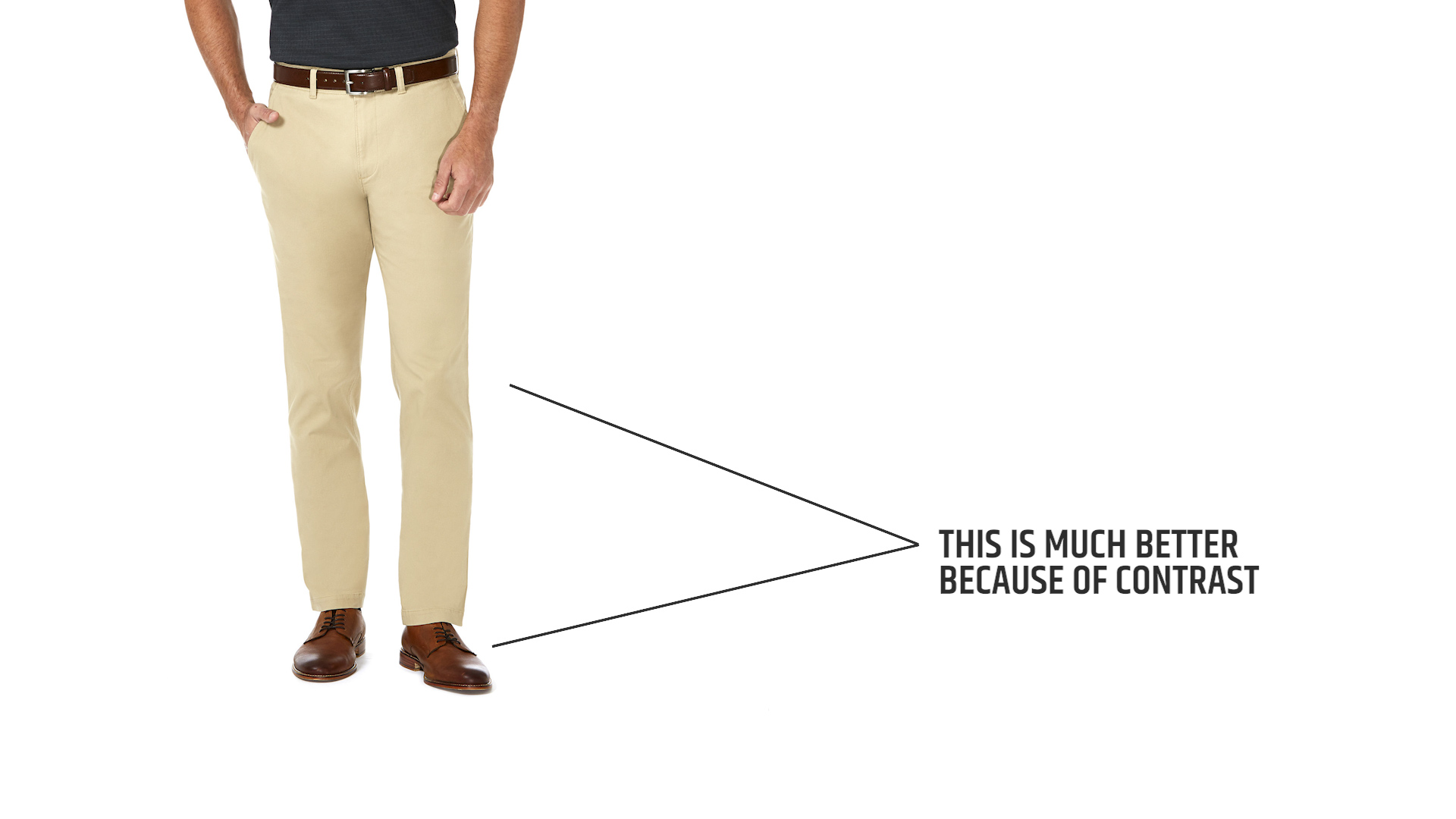 What goes with beige shoes