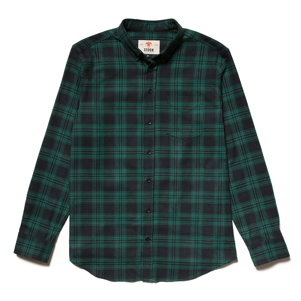 Stock Mfg. Co. Carnet Plaid Flannel