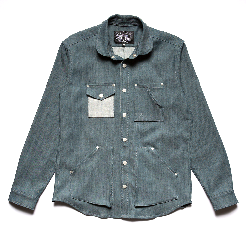 Stock Mfg. Co. Kaihara Denim Work Shirt