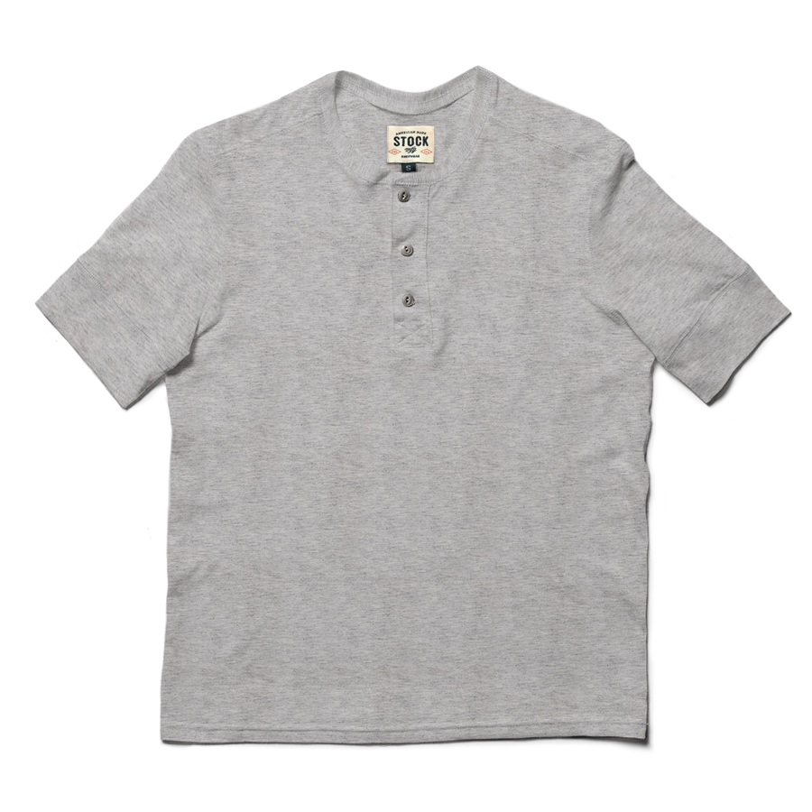 Stock Mfg. Co. Short Sleeve Henley
