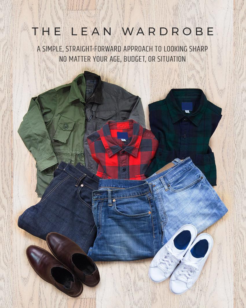 Lean Wardrobe book