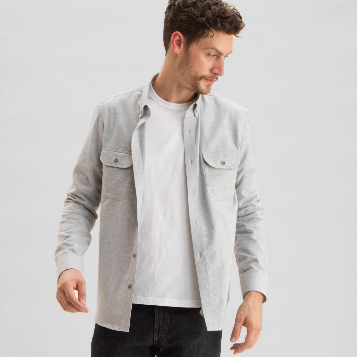 Todd Shelton Cotton Cashmere Overshirt