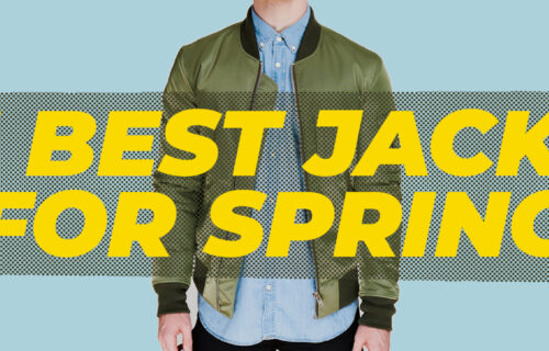 HOW TO CHOOSE THE BEST MEN'S SPRING JACKETS
