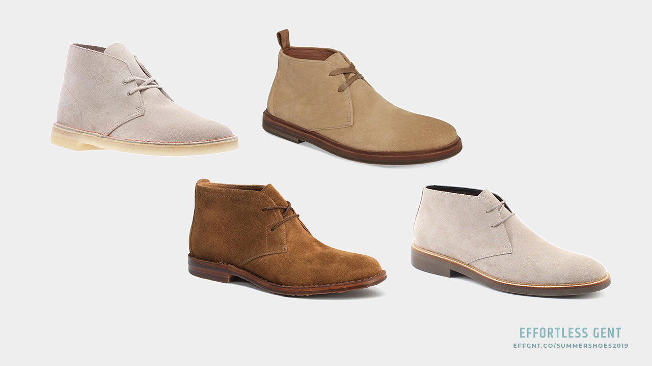 Men's Summer Shoes: 5 Pairs Worth Considering for Spring and Summer - unlined suede chukka