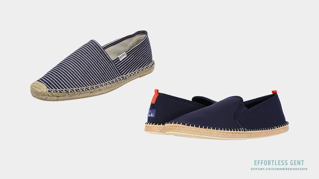 Men's Summer Shoes: 5 Pairs Worth Considering for Spring and Summer - espadrilles