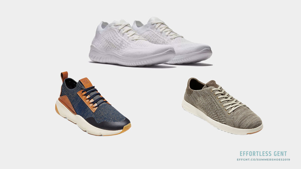 Men's Summer Shoes: 5 Pairs Worth Considering for Spring and Summer - knit sneaker
