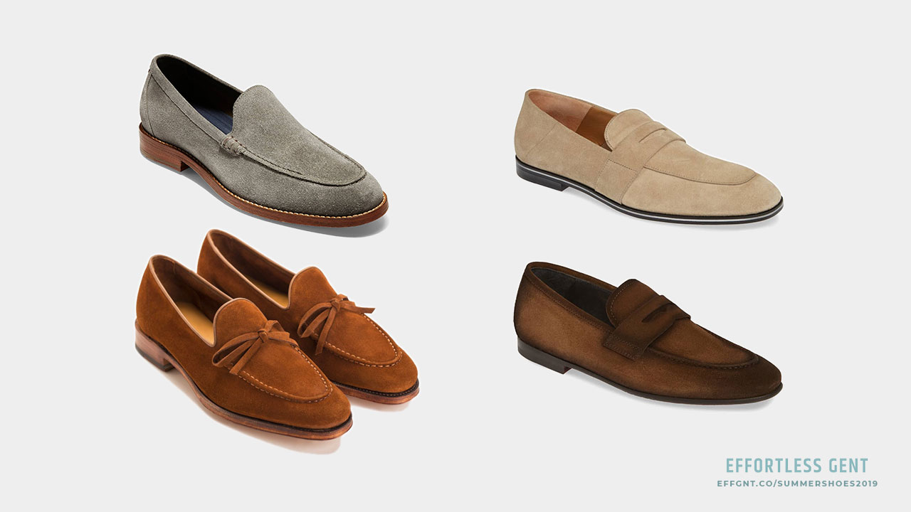 Men's Summer Shoes: 5 Pairs Worth Considering for Spring and Summer - unlined suede loafer