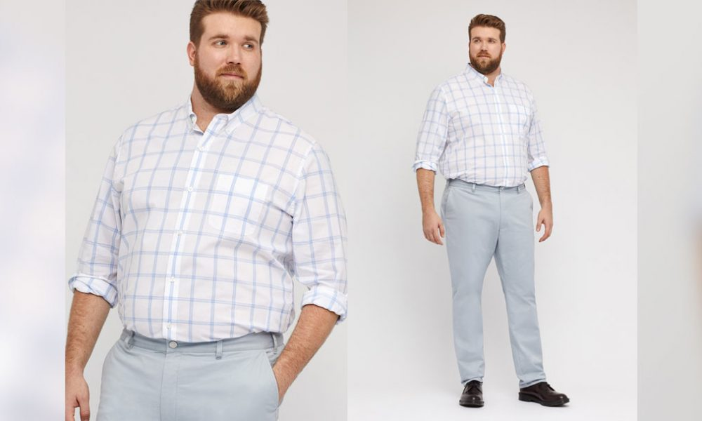 fashion for big guys: 5 Tips To Look Great Today (And As You Lose Weight)