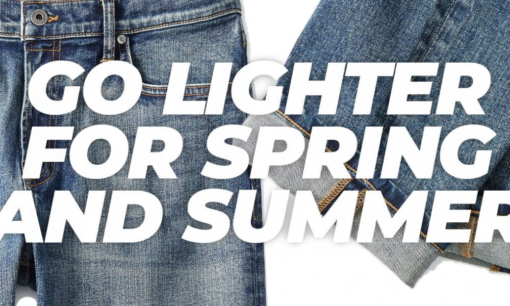 Go Lighter for Spring and Summer