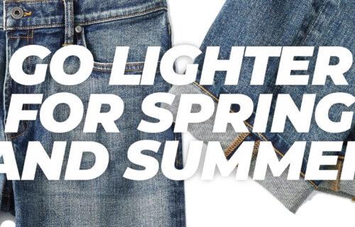 Go Lighter for Spring and Summer