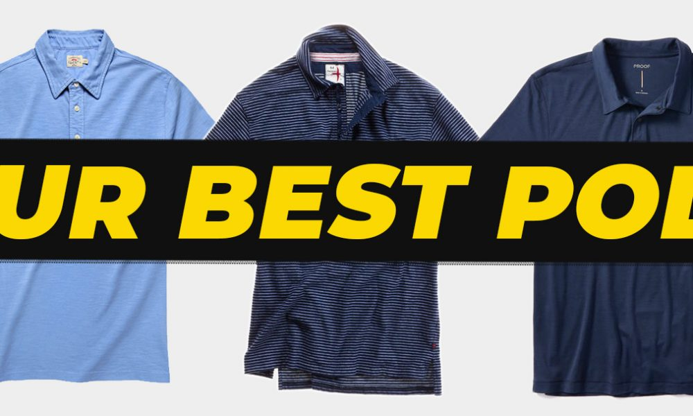best polos for spring and summer - graphic