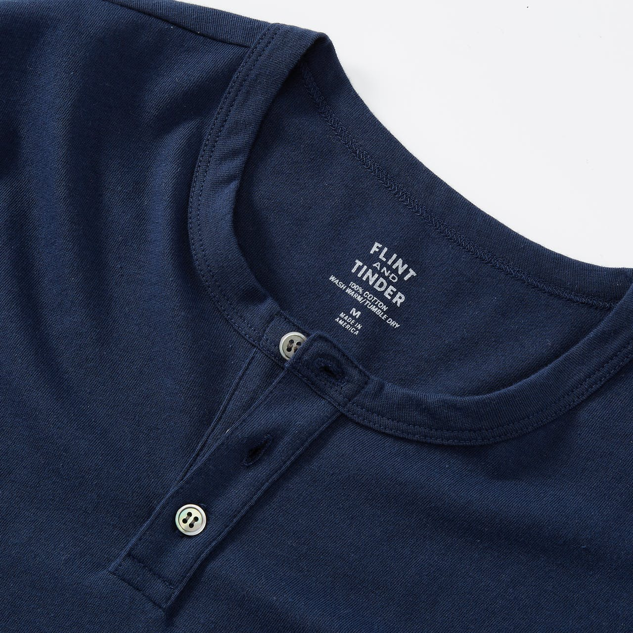Flint and Tinder Short-Sleeve Henley