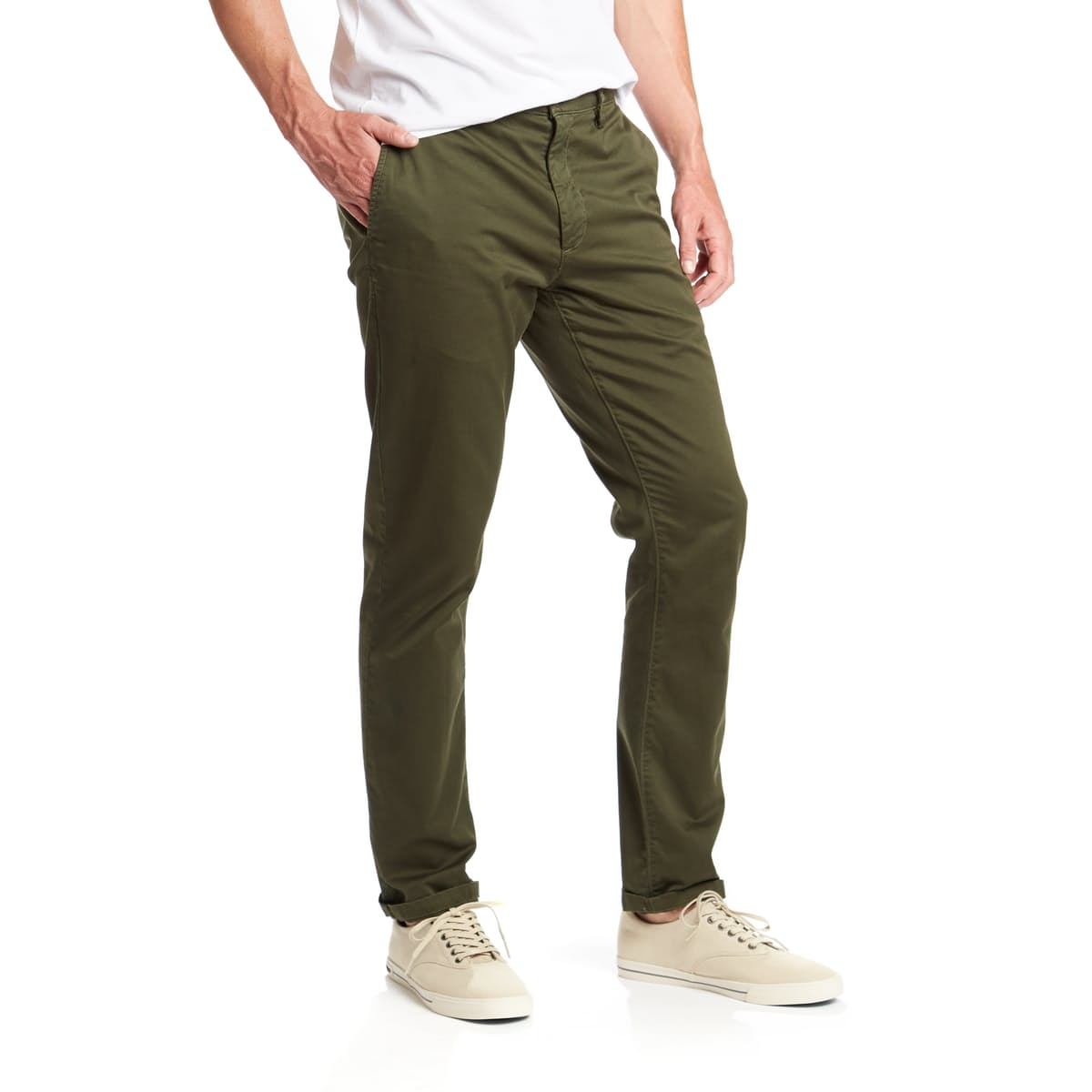 EG Style Staples: Flint and Tinder Cool Olive Chinos