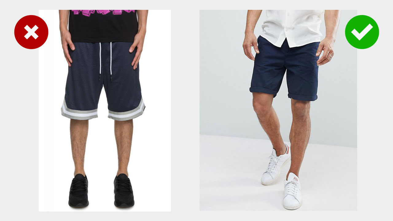 teenage style upgrade -- wearing chino shorts instead of basketball shorts