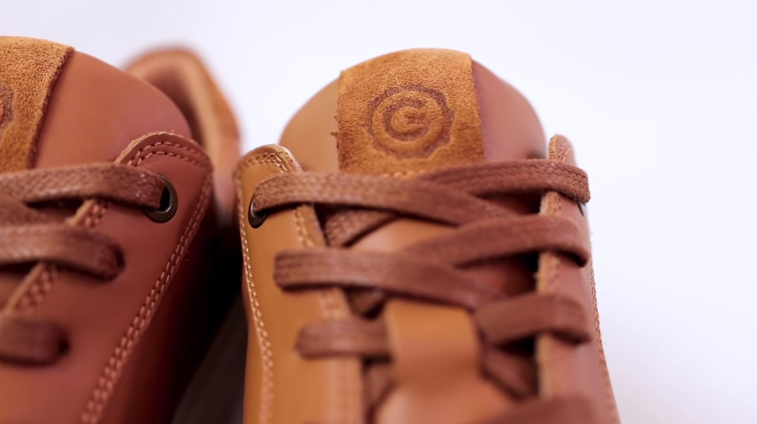 Greats Court leather sneakers with full grain leather