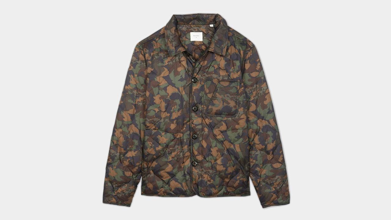 Camelia Shirt Jacket