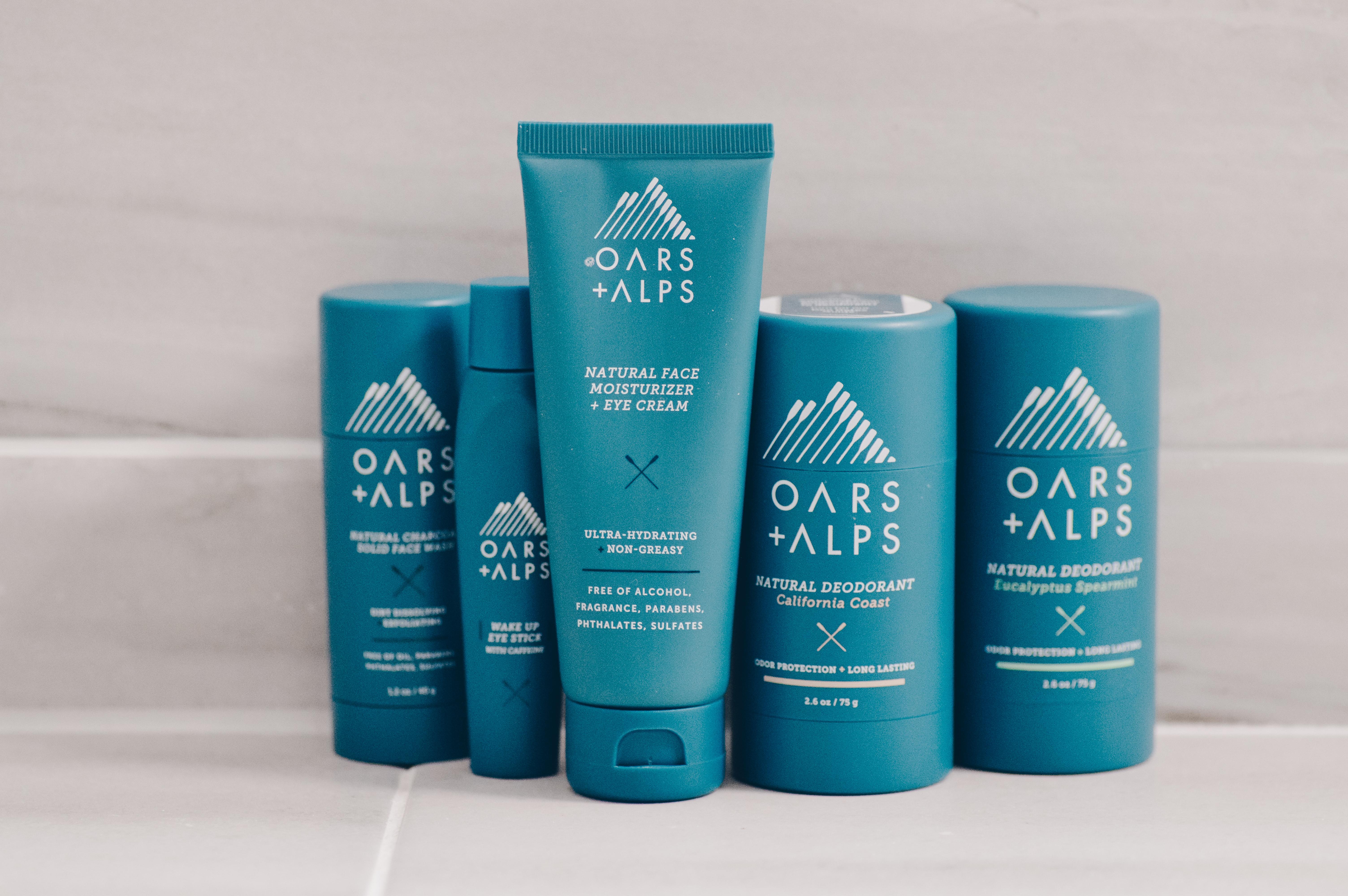 Oars + Alps Premium Brand Skincare