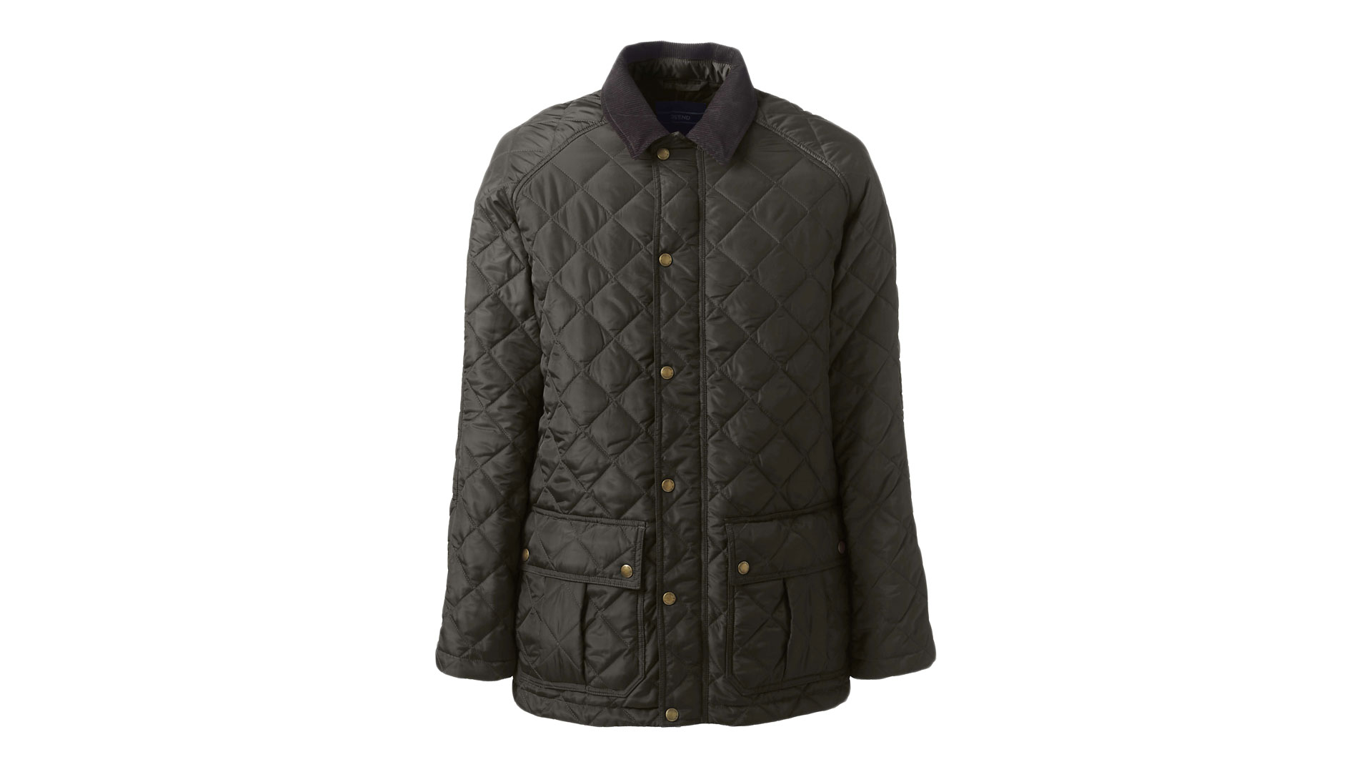 warm winter coat olive green quilted jacket