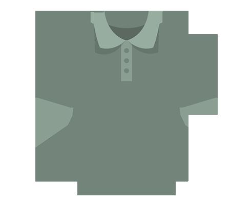 icon of polo shirt