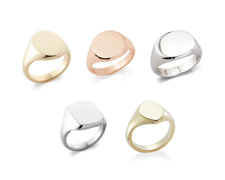 signet ring shapes from rebus