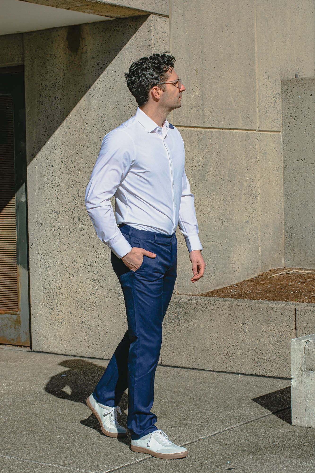mizzen main baron chinos and leeward shirt