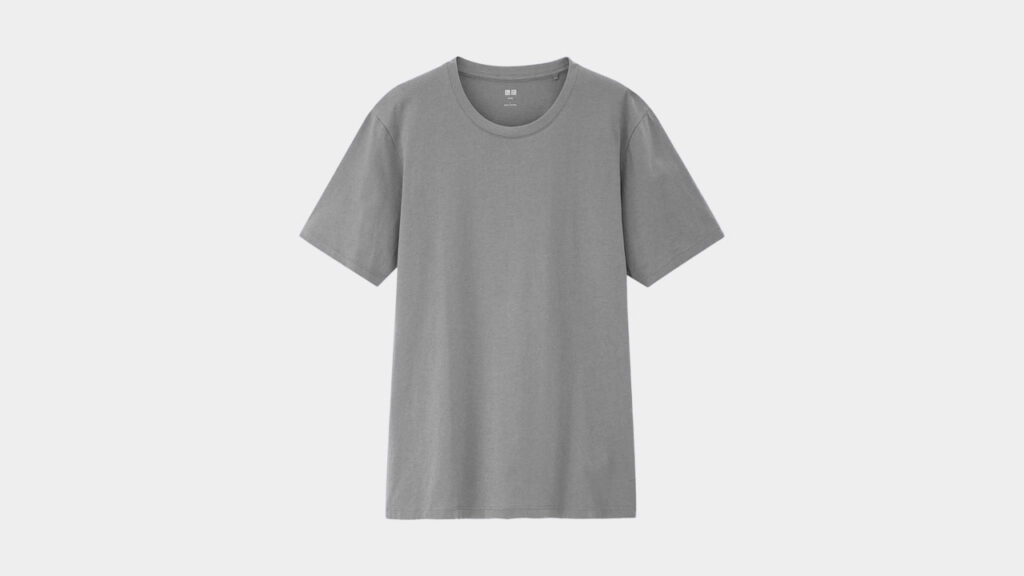 the best t shirt uniqlo supima tee