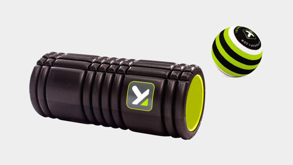 triggerpoint foam roller and massage ball