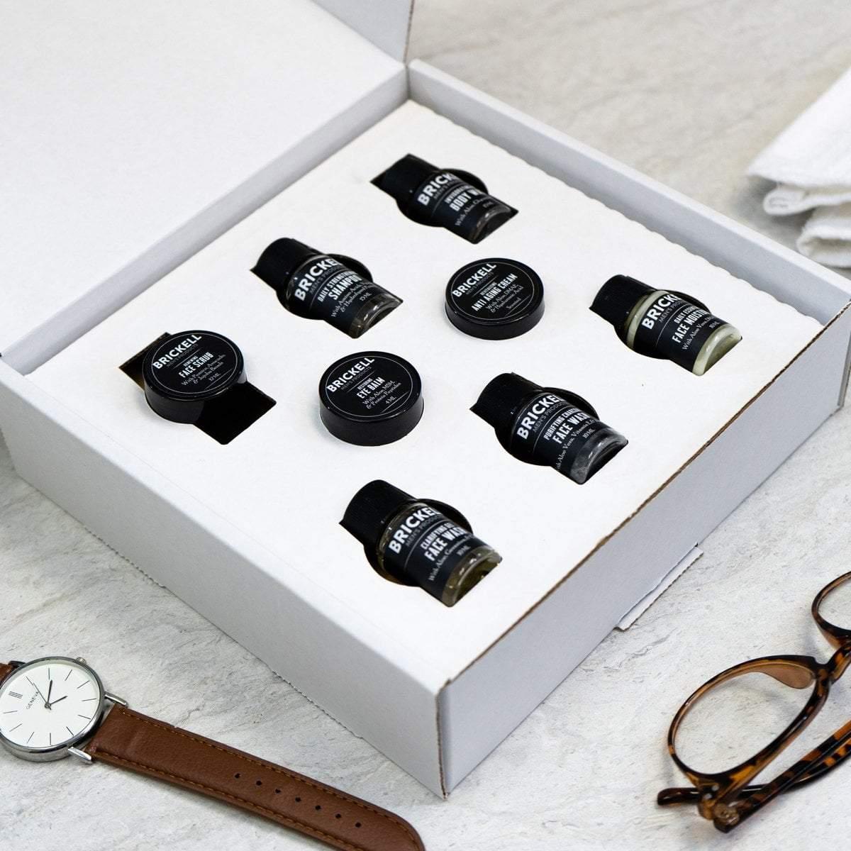 Brickell Men's Products Sample Kit