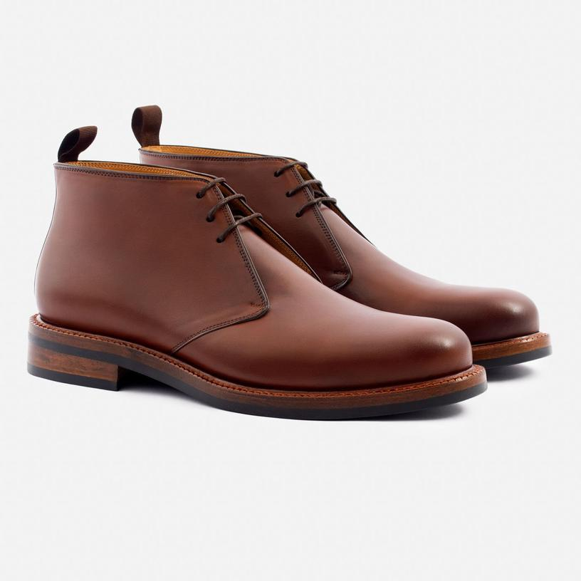laval chukka boot in tan from Beckett Simonon