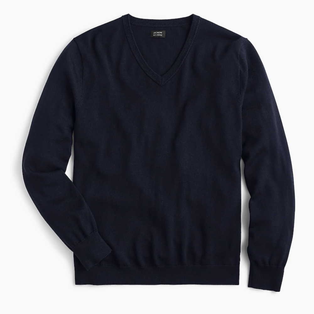 J. Crew Merino V-Neck Sweater