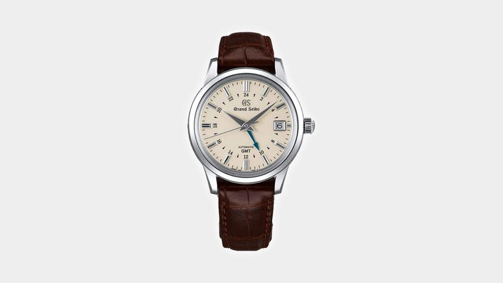 Grand Seiko Elegance Mechanical GMT SBGM221