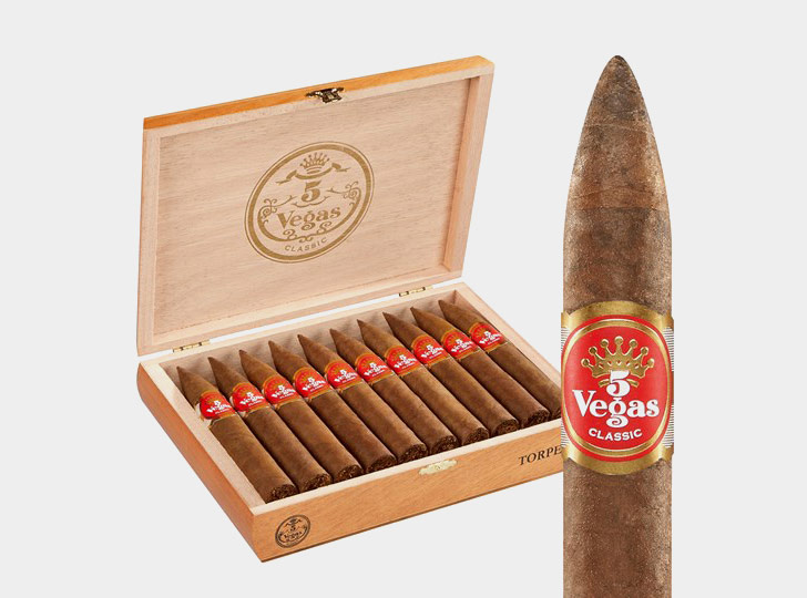 5 vegas classic - image via cigars international