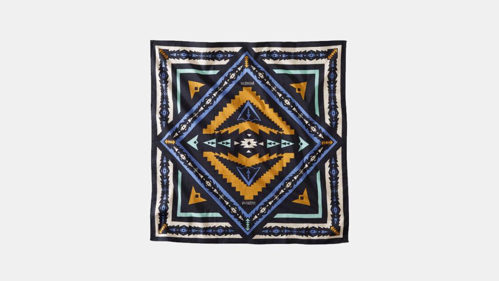 southwestern motif edc handkerchief from pendleton