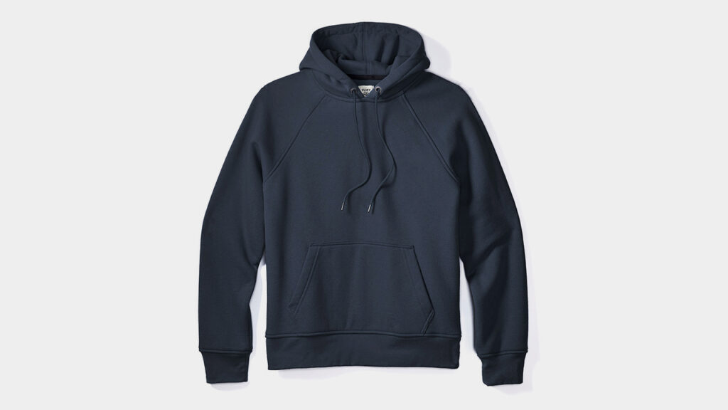 flint and tinder review of 10 year pullover navy sweatshirt