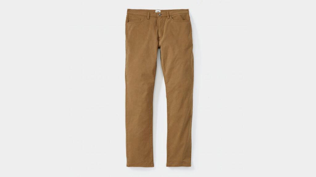 flint and tinder review - 365 pants khaki chino