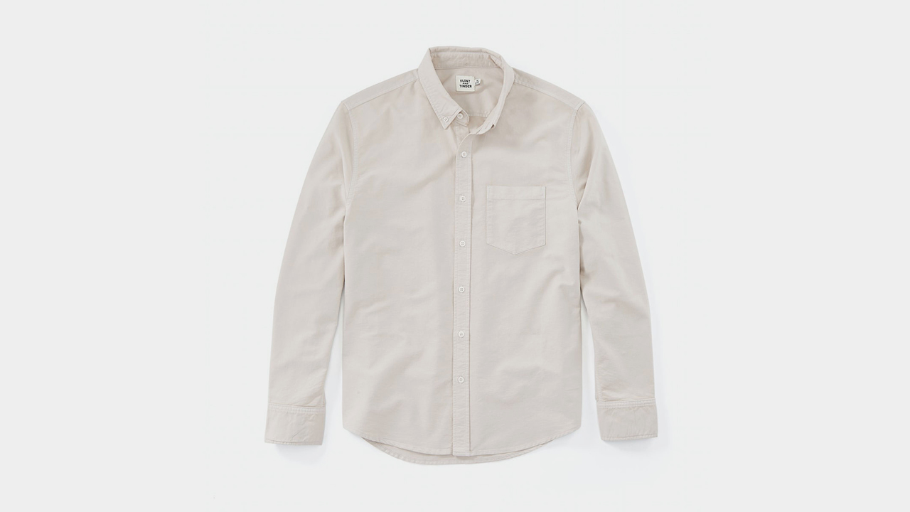 Flint and Tinder Garment-Dyed Oxford