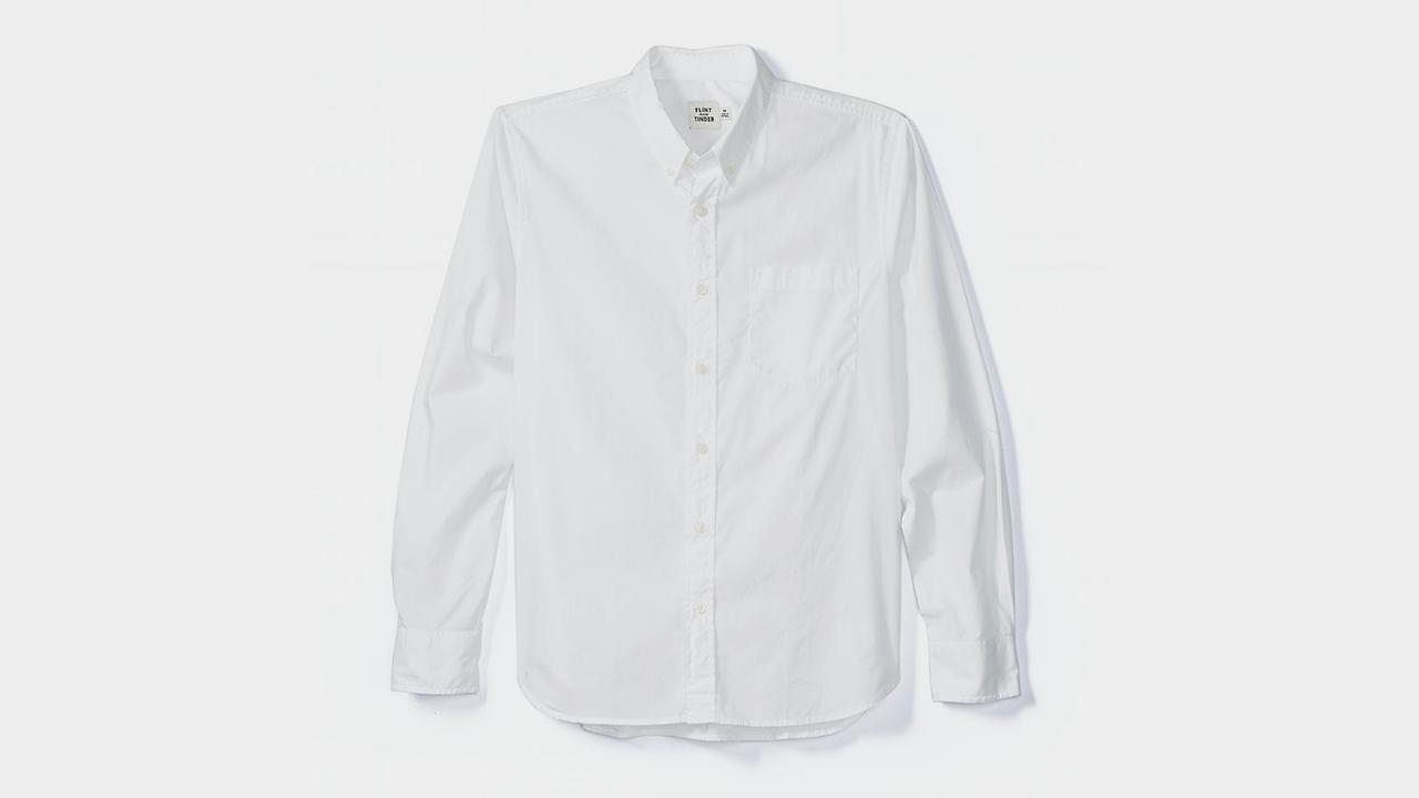Flint and Tinder Garment-Dyed Poplin Shirt