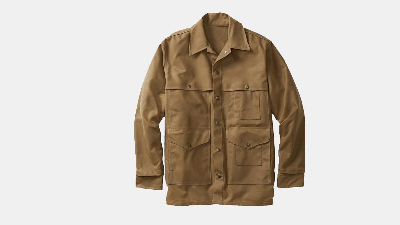 Filson Tin Cloth Cruiser Jacket