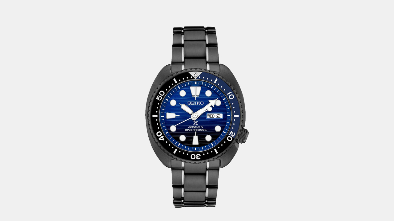Seiko Prospex Black Ion-plated Watch