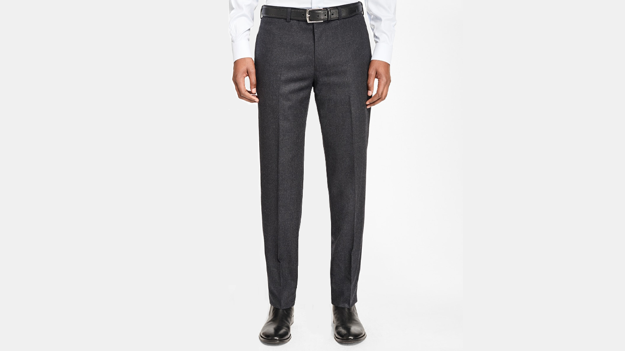 Brooks Brothers Grey Flannel Trousers