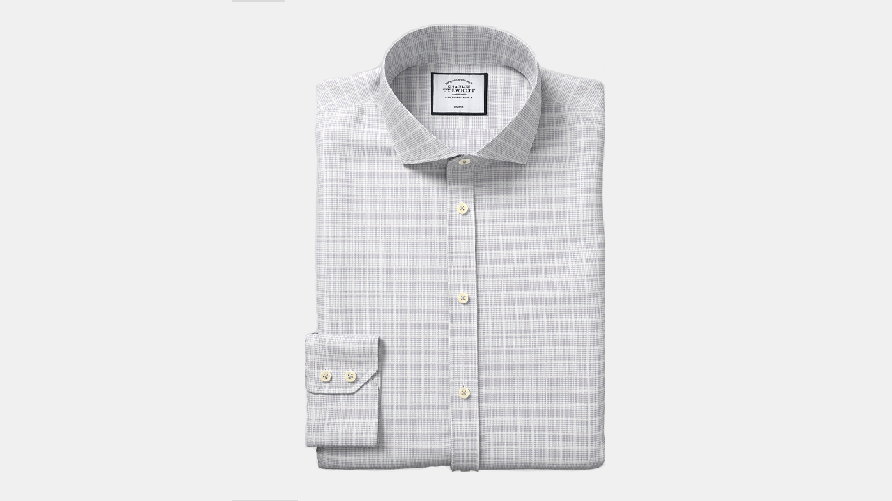 Charles Tyrwhitt Graph Check Shirt