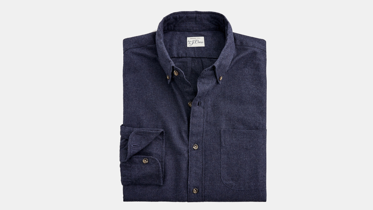 J.Crew Brushed Twill Shirt