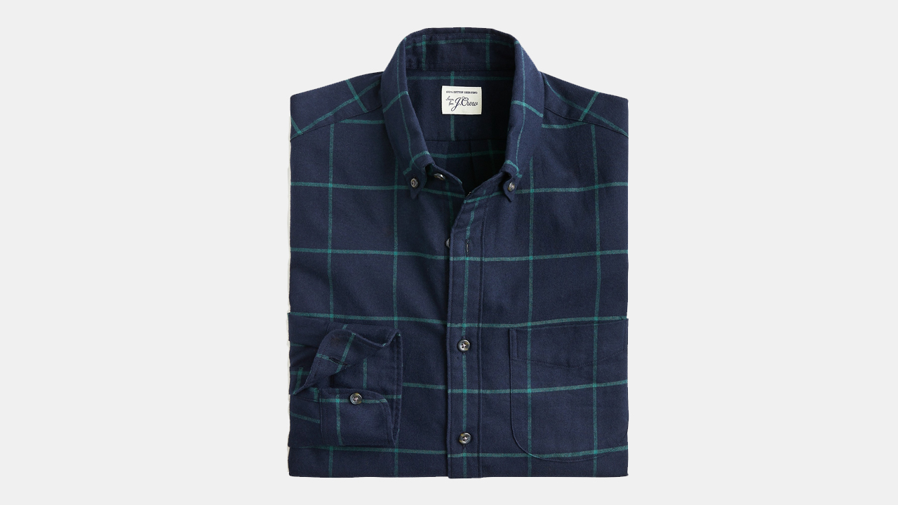 J.Crew Windowpane Shirt