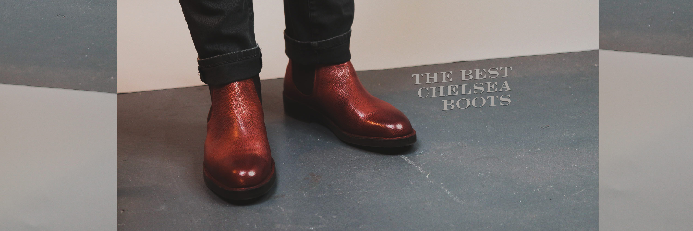 tan pebbled chelsea boot best men's slip on boots