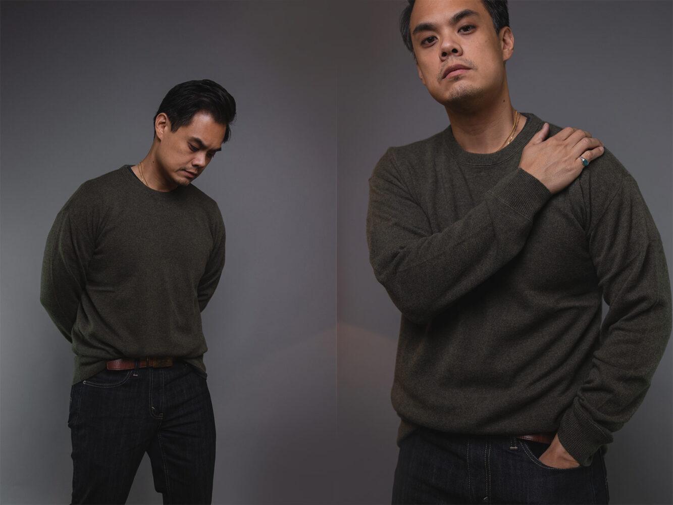 Italic Cashmere Crewneck Sweater