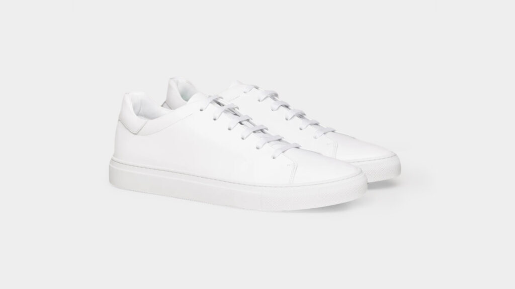 white sneaker mgemi lucente
